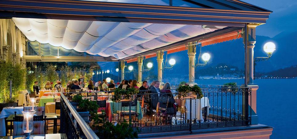 Ristorante La Terrazza, sul Lago di Como, Grand Hotel Tremezzo